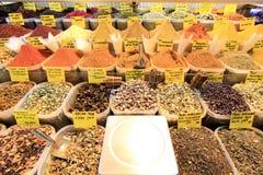 Turkish Spices & Teas Royalty Free Stock Photo