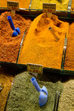 Turkish Spices in vertical position Stock Images