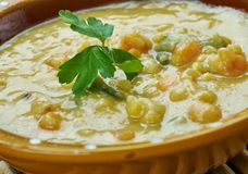 Turkish Split Pea Stew. In An Instant Pot, close up Stock Photos