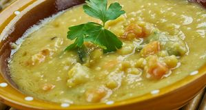 Turkish Split Pea Stew. In An Instant Pot, close up Royalty Free Stock Image