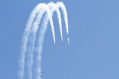 Turkish Stars Air Show Royalty Free Stock Photos