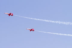 Turkish Stars Air Show Royalty Free Stock Image