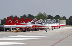 Turkish Stars Stock Image