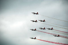Turkish Stars NF-5 Freedom Fighters Royalty Free Stock Photography