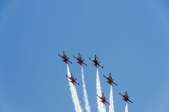 Turkish Stars NF5 formation Stock Photography