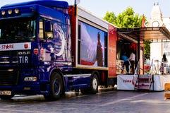 Turkish Stars Promotion Truck Stock Image