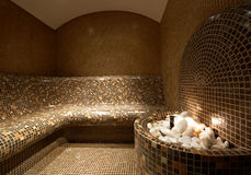 Turkish steam bath Stock Images