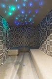 Turkish steam bath interior Stock Photo