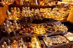 Turkish Store in Istanbul Royalty Free Stock Images