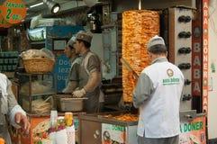 Turkish street trade . Royalty Free Stock Photos