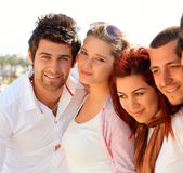 Turkish students Royalty Free Stock Photo