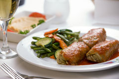 Turkish Stuffed Cabbage Rolls Royalty Free Stock Photos