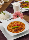 Turkish Style Chickpea. Turkish Style Delicious Chickpea Photography Stock Photography