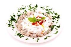 Turkish style delicious manti tatar borek Royalty Free Stock Photos