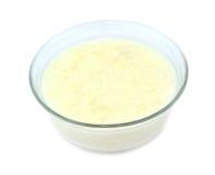 Turkish style homemade rice pudding isolated on white background Stock Image