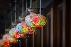Turkish Style Lanterns Stock Image