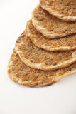 Turkish style Minced lahmacun Royalty Free Stock Image