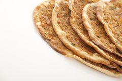 Turkish style Minced lahmacun Stock Photo
