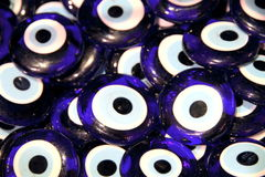 Turkish superstition evil eye beads, Stock Photo
