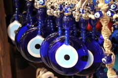 Turkish superstition evil eye beads, ( Nazar beads ) Stock Photos