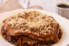Turkish Sweet Bread. Made of carob molasses and crepe, originated from Elazig city Royalty Free Stock Photography