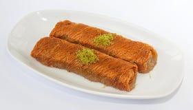 Turkish sweet dessert Royalty Free Stock Images
