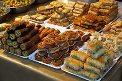 Turkish sweets Stock Photo