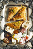 Turkish sweets. Stock Photos