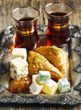 Turkish sweets. Stock Images