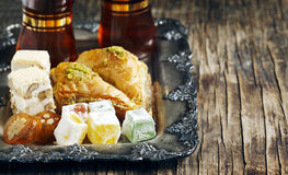 Turkish sweets. Stock Photography