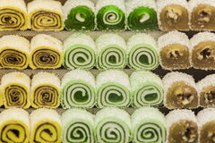 Turkish sweets Stock Image