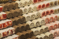 Turkish sweets Stock Image