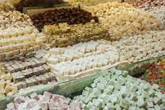 Turkish sweets at Grand Bazaar, Istanbul Stock Image