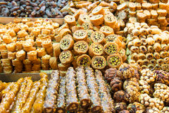 Turkish Sweets Royalty Free Stock Images