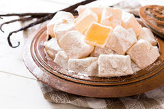 Turkish sweets Stock Images
