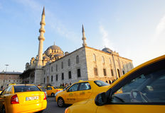 Turkish taxi Royalty Free Stock Images