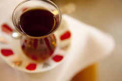 Turkish Tea Cup Royalty Free Stock Images