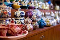 Turkish tea pots. Royalty Free Stock Image