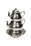 Turkish Tea and Teapot Royalty Free Stock Photo