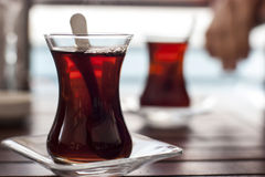 Turkish tea Royalty Free Stock Photo