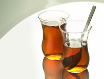 Turkish tea together Royalty Free Stock Photography