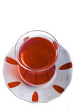 Turkish Tea Top View Royalty Free Stock Photography