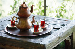 Turkish Tea Stock Image