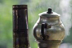 Turkish tea urn Stock Photography