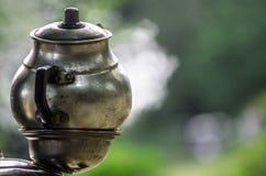 Turkish tea urn Stock Images