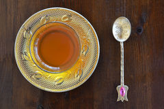Turkish teacup Royalty Free Stock Photography
