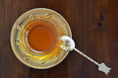 Turkish teacup Stock Photo