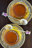 Turkish teacups Stock Image