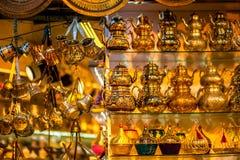 Turkish teapots Royalty Free Stock Photo