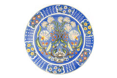 Turkish tile dish Royalty Free Stock Photos